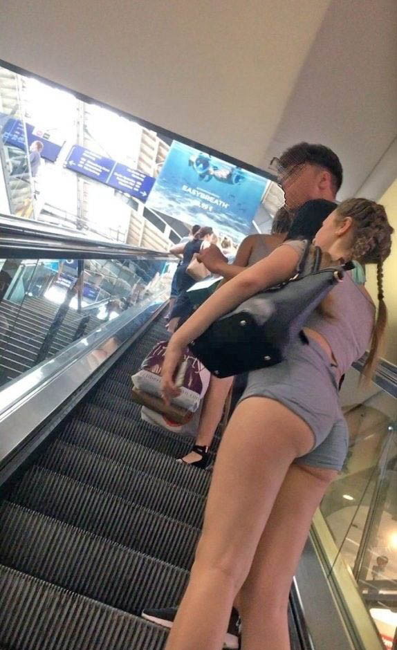 Slut Showing Off Public